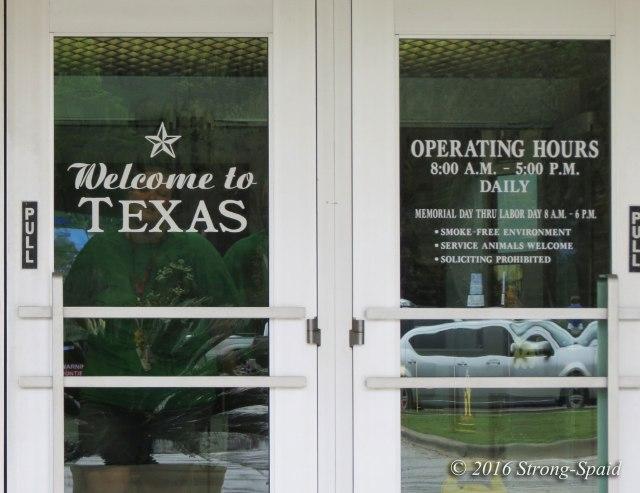 Texas-Welcome