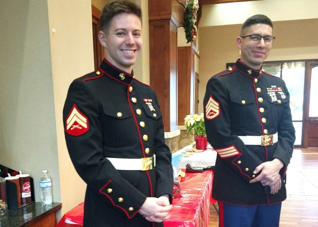 Marine Corp Reserves Toys for Tots program