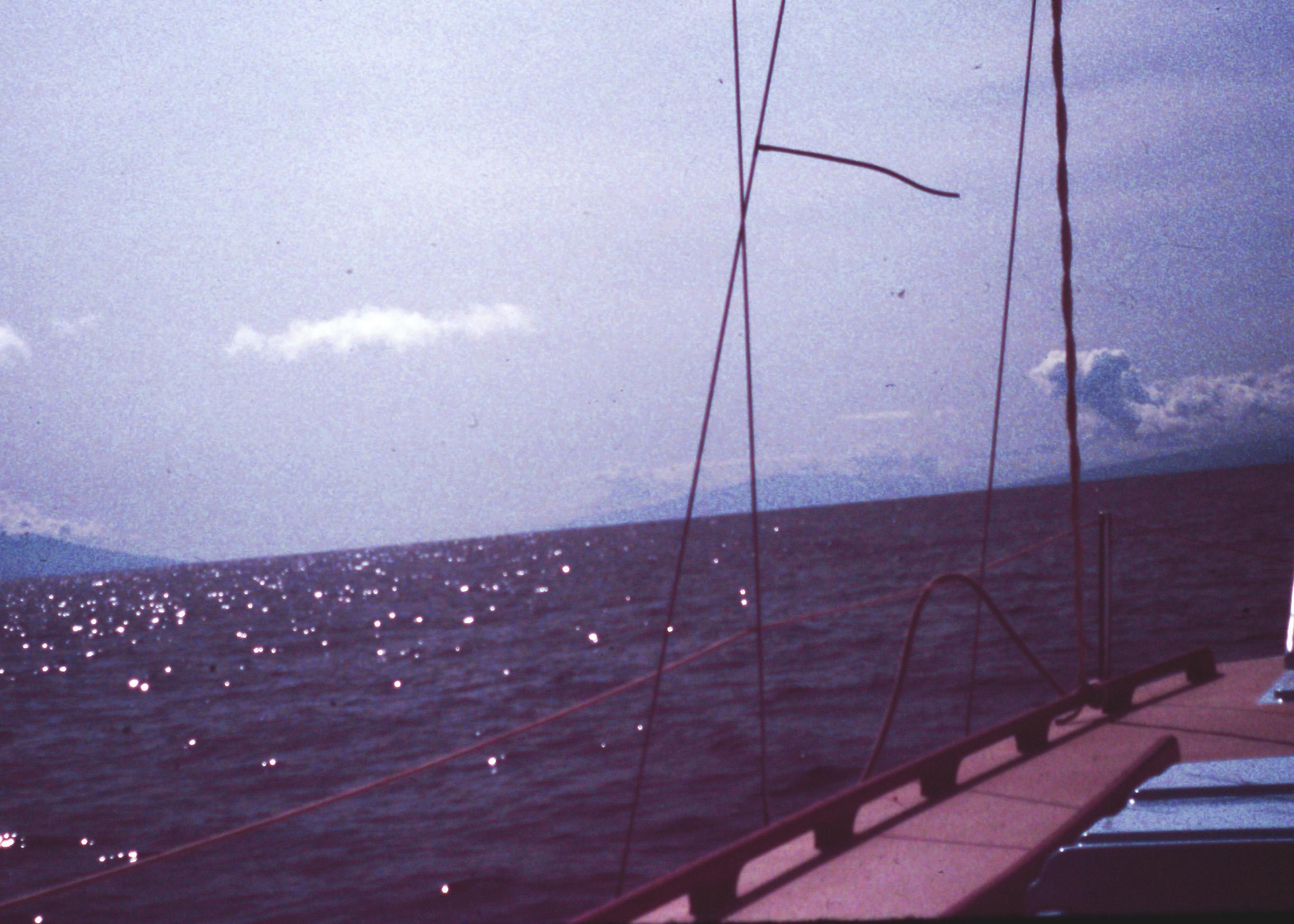 Sailing Hawaii blue sea